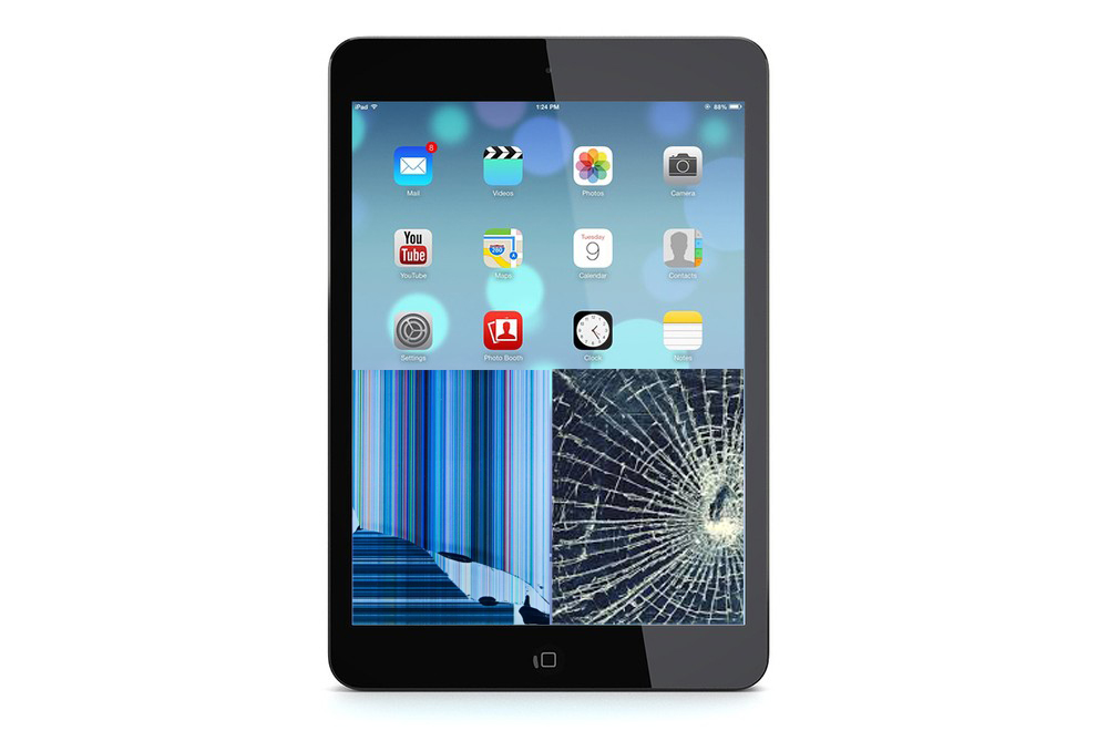 iPad mini Retina Glas + Displaybyte
