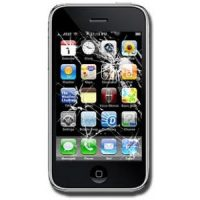 iPhone 3G glasbyte