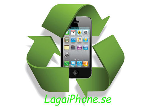 iPhone 4S återvinning recycle