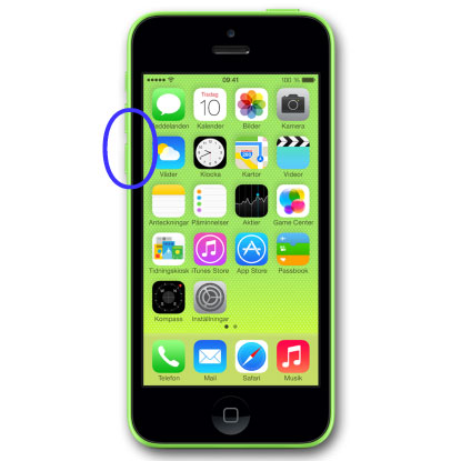 iPhone-5C-byte-av-volymknap