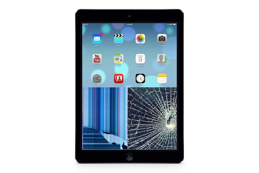 iPad Air Glas + Displaybyte
