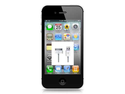 iPhone 4s byte av laddkontakt