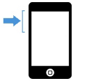 iPhone 5S byte av volymknapp
