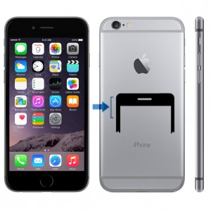 iPhone 6 ljudlösknapp