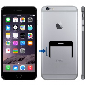 iPhone 6 Plus volymknapp byte