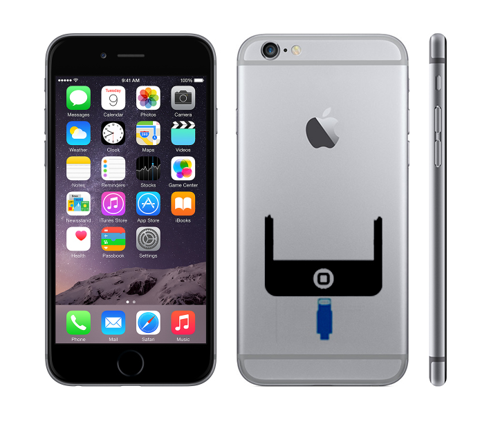 iPhone 6 Reparation laga laddkontakt