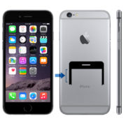 iPhone 6 volymknapp byte