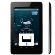 Asus Nexus 7 byte av laddkontakt