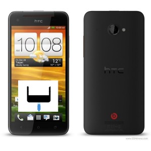 HTC One X Plus byte av laddkontakt