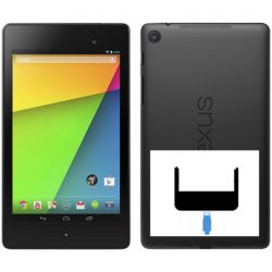 Asus Nexus 7, 2nd byte av laddkontakt