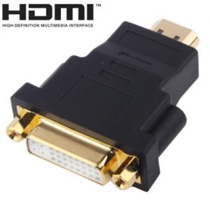 Gold-Plated-HDMI-19-Pin-Male-to-DVI-24-Female-Adapter