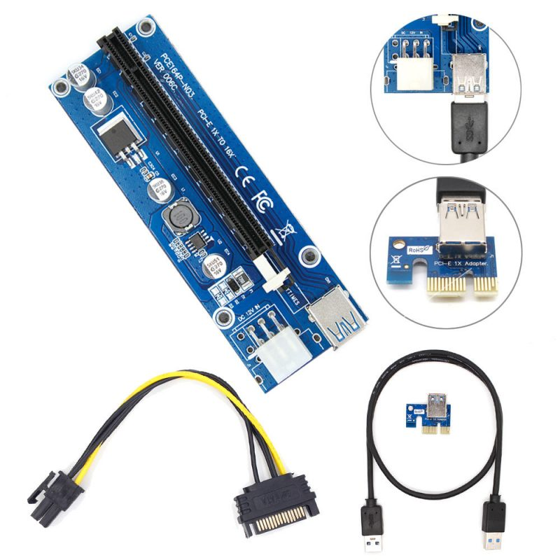 PCI-E-Express-USB3-1x-to16x-Extender-Riser-Card-Adapter