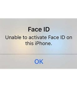 Unable to activate Face ID on this iPhone repair